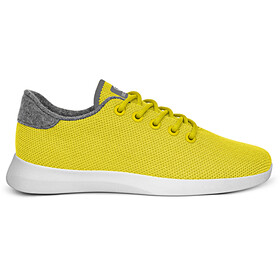 Giesswein Merino Wool Knit Løbesko Damer, gul